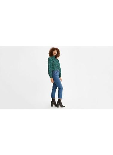 Levi's® 362000161 501 Crop Salsa Charleston Outlasted Kısa Paça Kadın Jean Pantalon İndigo